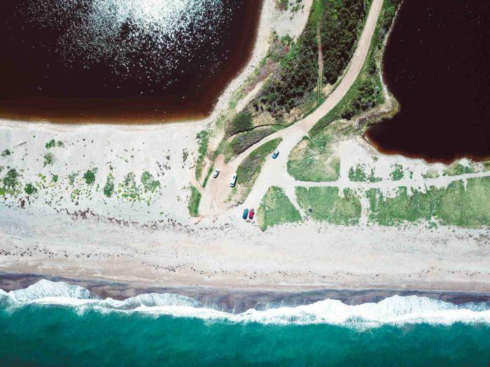 RoadLoft Boondocking sur les plages désertes du Cape-Breton