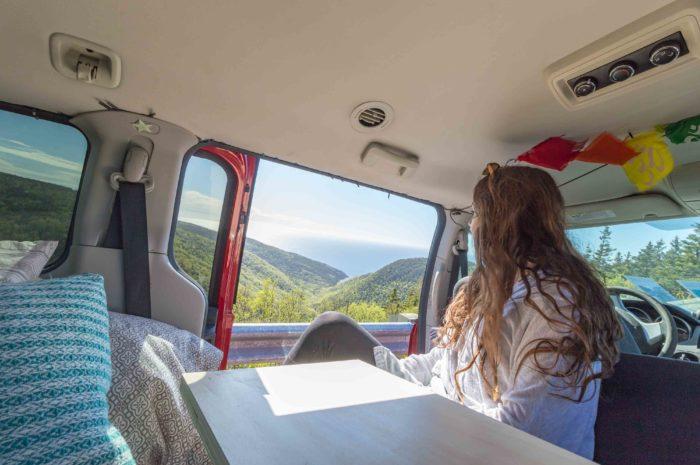 Contempler le paysage en tout confort dans notre RoadLoft