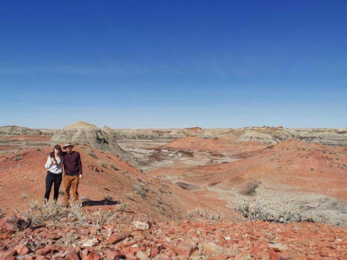 Sud-ouest des États-Unis : Bisti Badlands