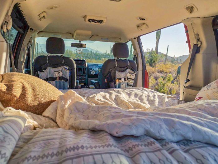 boondocking in arizona with roadloft