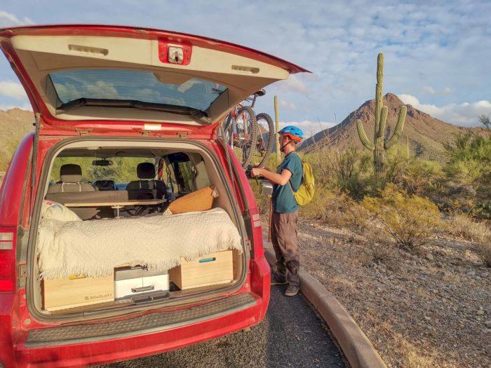 Mountain biking in Arizona