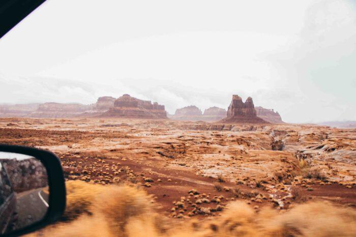 Jours de pluie en Arizona